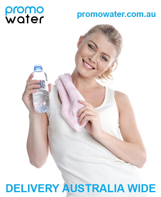 We deliver private label water bottles Australia-wide