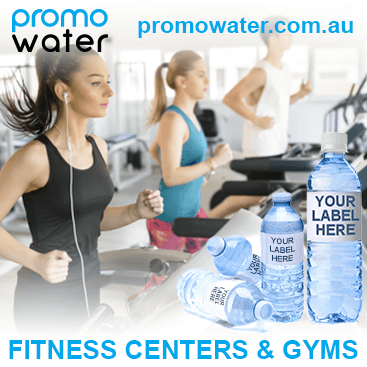 Private label water bottles for fitness centers & gyms