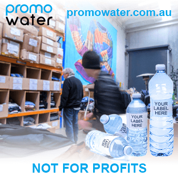 Private label water bottles for not for profits