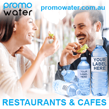 Private label water bottles for restaurants & cafes