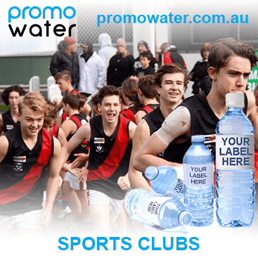 Private label water bottles for sports clubs