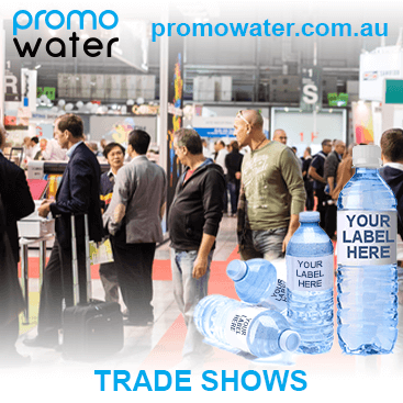 Private label water bottles for trade shows
