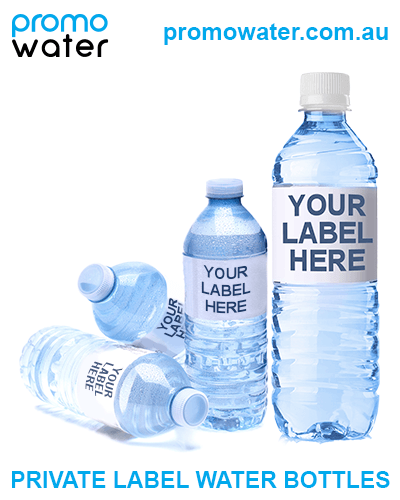 Private label water bottles are bottles of water custom-labelled to effectively advertise and promote your business or organisation